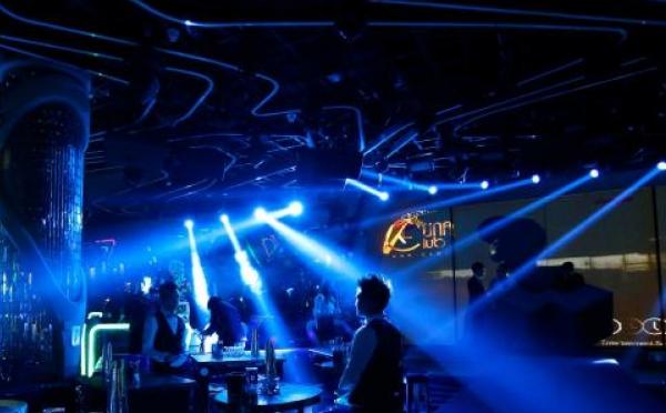 ANGLER特效设备辉耀锦路之南通UNA酒吧
