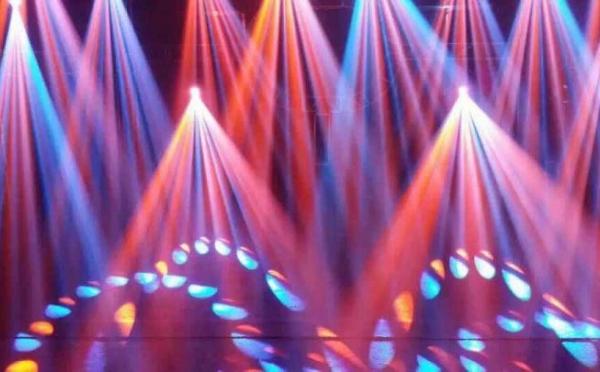 ANGLER特效设备辉耀锦路之大歌灯光展厅