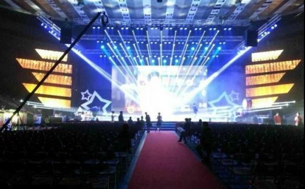 ANGLER特效设备辉耀锦路之杭州某颁奖晚会